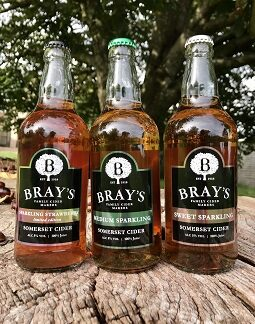 Bray's Sparkling Cider